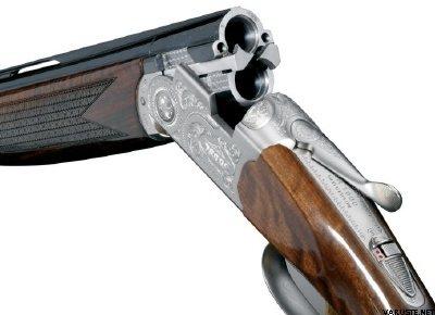 Beretta 686 Silver Pigeon I 12/76 with adjustable cheekpiece