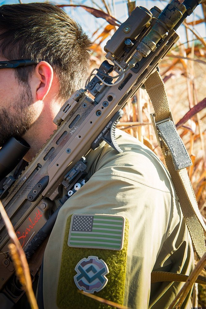 Kinetic Development Group SCAR MREX™- M-LOK™ 6 5″ FDE