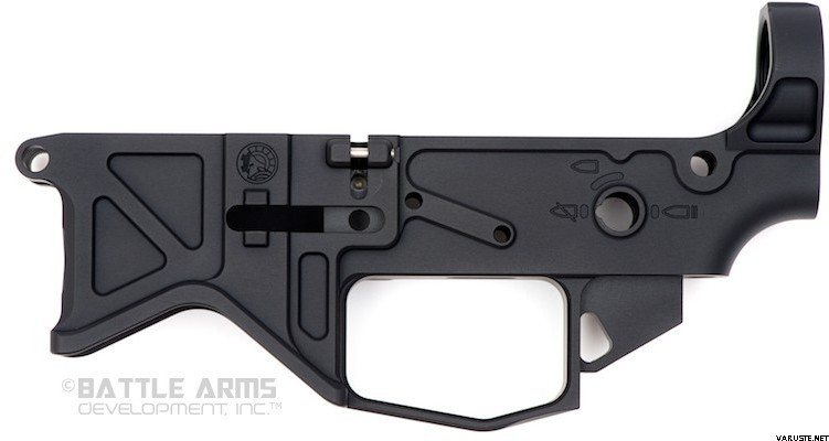 Battle Arms Development BAD556-LW LIGHTWEIGHT 7075-T6 BILLET LOWER RECEIVER